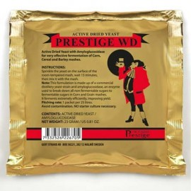 Prestige WD yeast for whiskey to 25L