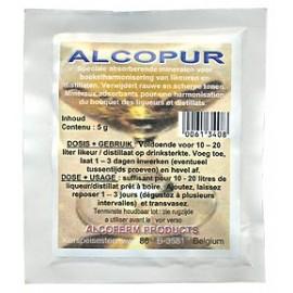 ALCOPUR 5 g uz 10-20 litriem noņem destilēta alkohola smaku