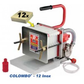 Colombo 12 lnox - automatinis presfiltrs