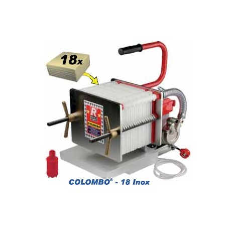 Colombo 18 lnox - automatinis presfiltrs