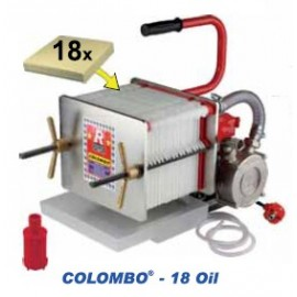 Colombo 18 Oil - Automatic Press Filter