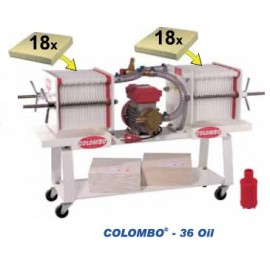 Colombo 36 Aliejus - automatinis presfiltrs