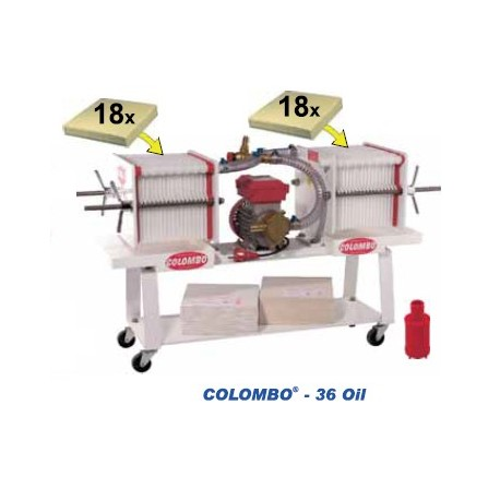 Colombo 36 Oil - automatischer Pressfilter