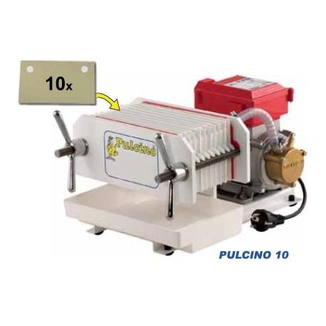 Pulcino 10 - automatinis presfiltrs