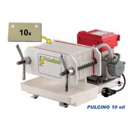 Pulcino 10 Oil - Automatic Press Filter