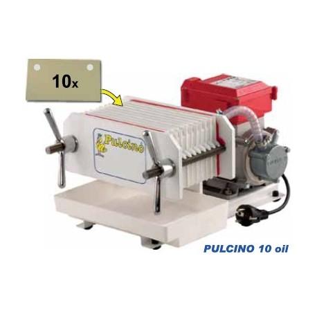 Pulcino 10 Oil - automatischer Pressfilter