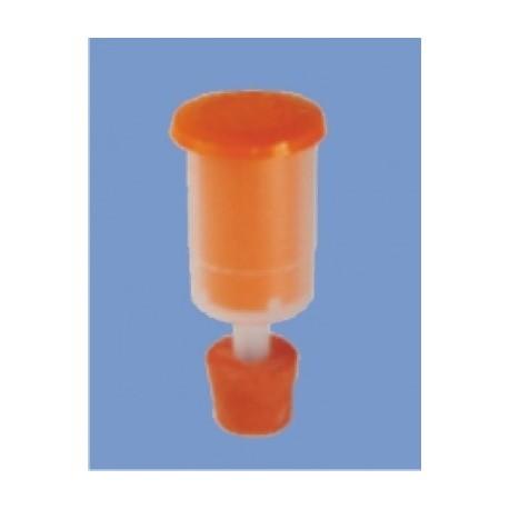 Hydraulikventil mit Kappe für Kunststofffässer