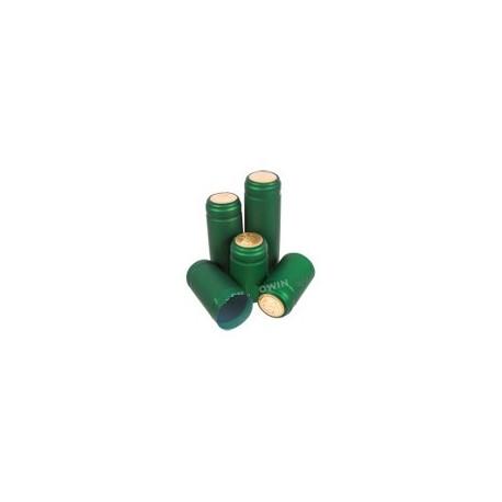 Zaļi vāciņi ar perforāciju Ø31x55mm 100gab