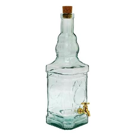 Dekoratyvinis butelis su ?iaupu BOK?TAS 3,4 L