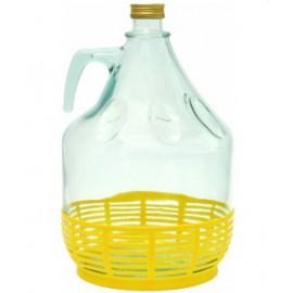 Glasflasche 5L für Wasser mit Schraubverschluss (? 29mm)