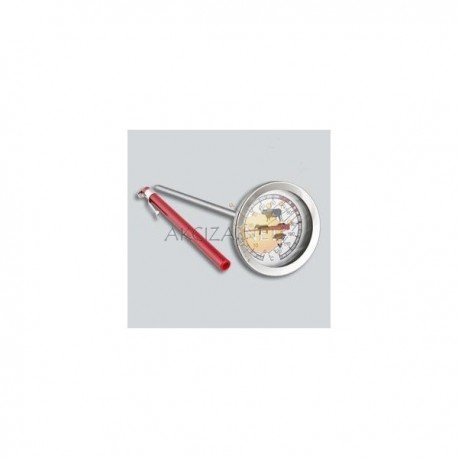 Thermometer for cooking meat and for oven