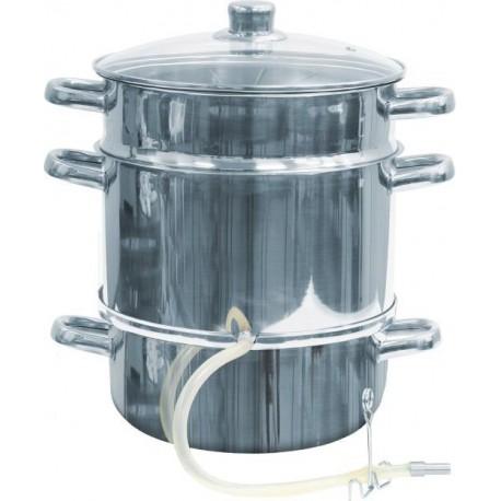 Соковыжималка из нержавеющей стали на 8 литров
