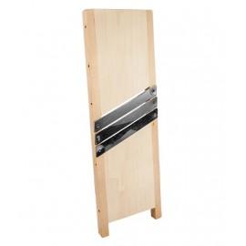 Деревянная терка для капусты 45x15 см - 3 лезвия