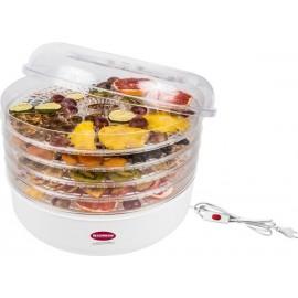 Elektriline kuivati k??giviljad ja puuviljad 13,5 Liitrit, 5 riiulid, valge, 220V/245W
