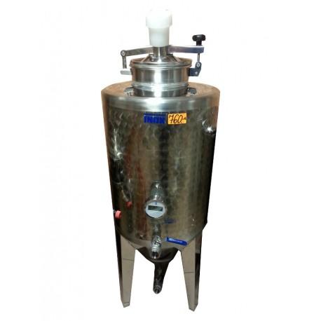 Geschlossener Tank für die Getränkegärung 120L