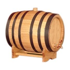 Oak barrel with crane 150L