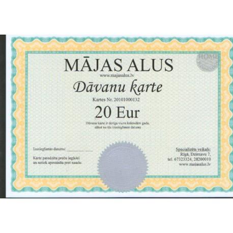 Geschenkkarte im Wert von 20 EUR