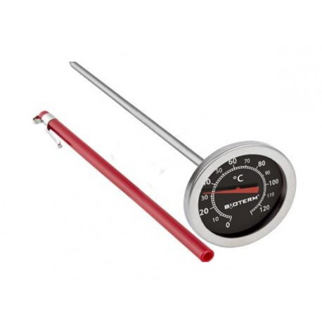 Thermometer for smokehouse (0?C to +120?C) 210mm