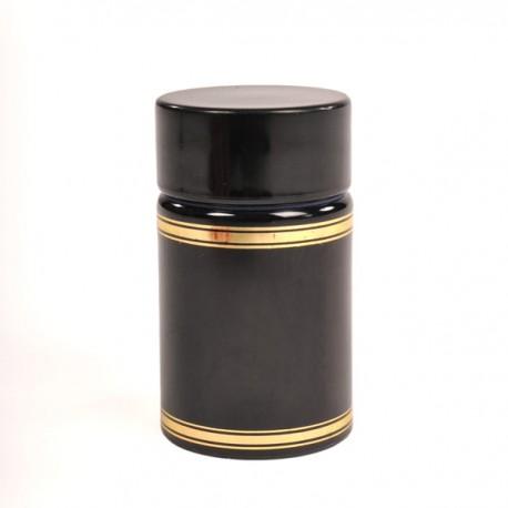Plastist kork on kamber ja kaas (must)