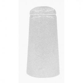 Aluminiumkapsel 34x90mm (weiß) 100 Stk.