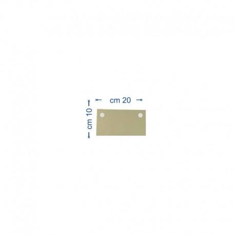 Filtra ieliktnis (5 gb.) 20x10cm Oil PULCINO (Oil 00)