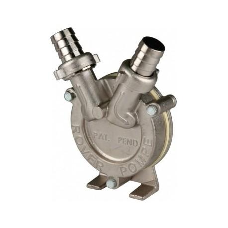 Die NOVAX Drill 20 Pumpe arbeitet mit einem Bohrer