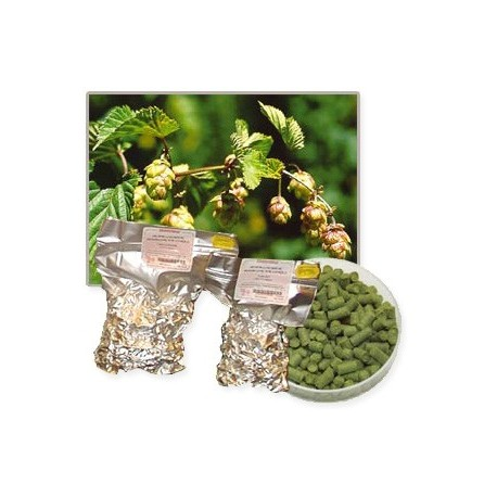 Hop pellets HALLERTAU PERLE 100g Alfa: 8%
