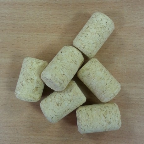 Agglomerated wine corks Ø24/38mm (20 pcs.)