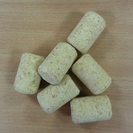 Agglomerated wine corks Ø24/38mm (100 pcs.)