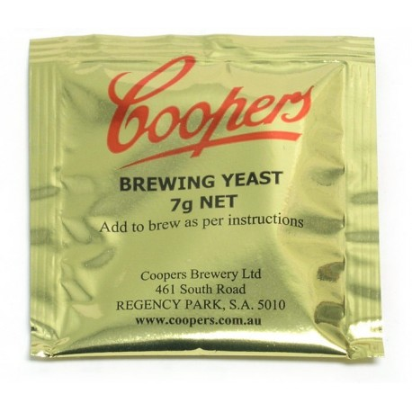 Brewing yeast Cooper 7g