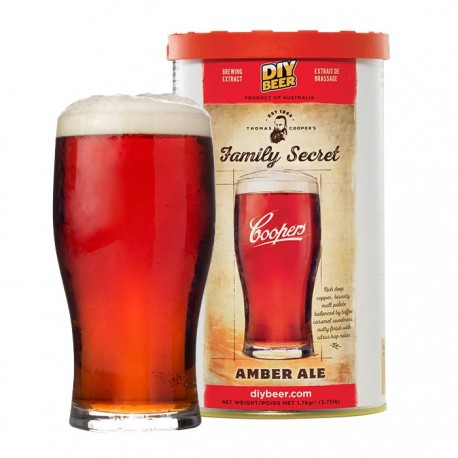 Thomas Coopers Family Secret Amber Ale (1.7kg)
