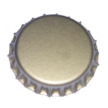 Metal crown caps d29mm gold 200pcs