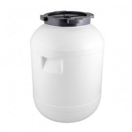 Пластиковая бочка с ручками и винтовой крышкой на 30 литров