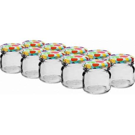 Klaasist purki, 40 ml, kaanega ja kaaneta (?. 10gab.)