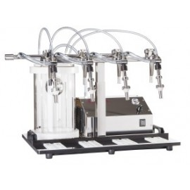 Filler with 4 stainless steel filling nozzles Enolmaster 4