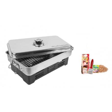 Pastrami kit - smokehouse with thermomete
