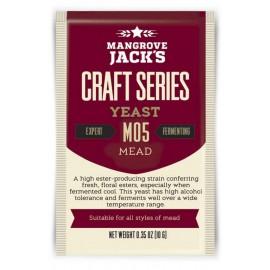 Dried brewing yeast Mangrove Jack`s Craft Series Mead M05 10g