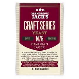 Trockene Bierhefe Mangrove Jack`s Craft Series Bayerisches Lager M76 10g