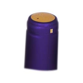 Dangteliai vyno buteliams 31x65mm purpuriniai 100vnt.
