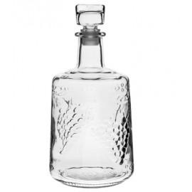 Karafe no bieza stikla ar aizbāzni 1,5L