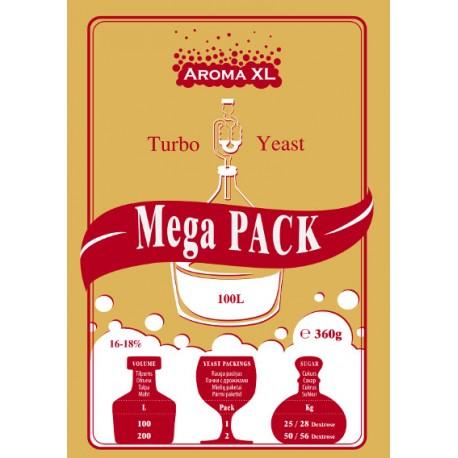 Turbo Yeast AromaXL MegaPack 100L