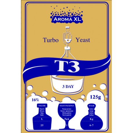 Turbo raugs destil?cijai AromaXL T3