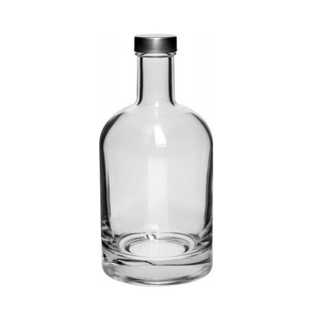 Стеклянная бутылка с крышкой 500мл