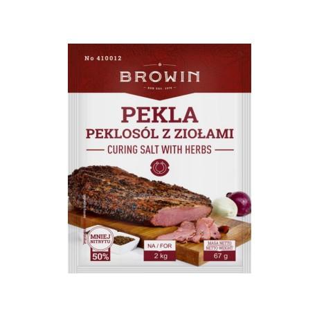 Pekla - соль для посола с травами 67г (на 2 кг мяса)