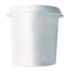 Food plastic container with lid 33l