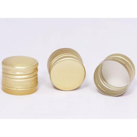 Schraubverschluss Flasche 30 x 24 mm, Gold