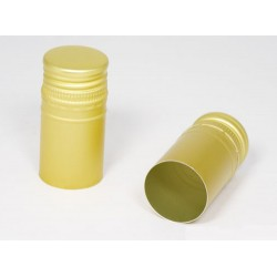 Lid ?30 x h60mm for bottles with thread (gold)