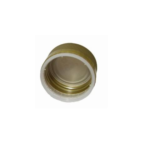 Skr?v?jamais plastmasas v?ci?? pudel?m ?35 x h18mm, zelta