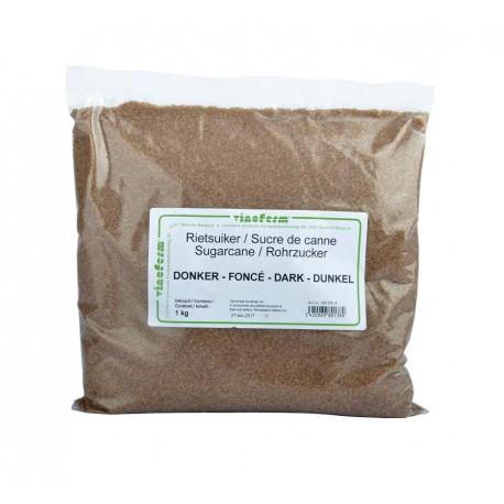 Raw cane sugar dark 1 kg
