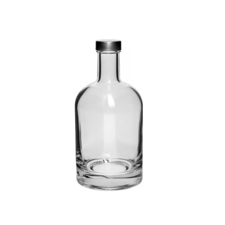 Bottle 700 ml Miss Barku - cap, white
